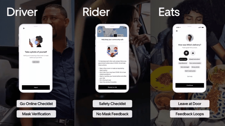 Uber has separate rider and driver apps in one package