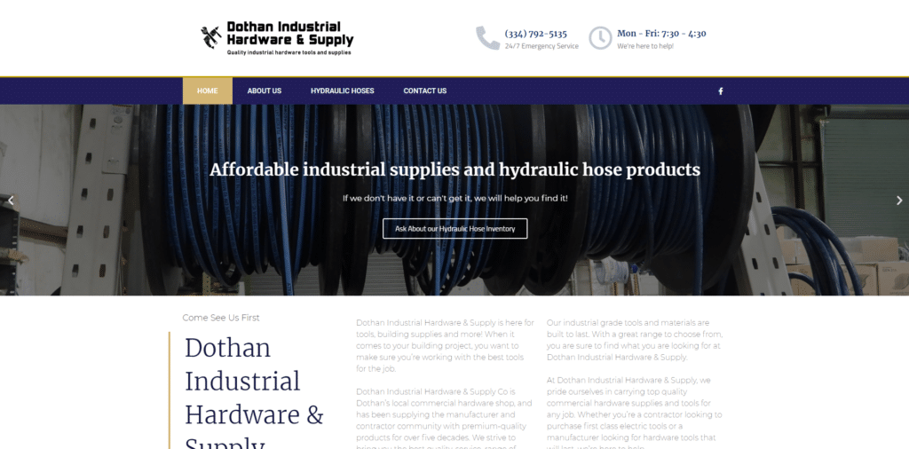 Dothan Industrial Hardware best industrial hardware website