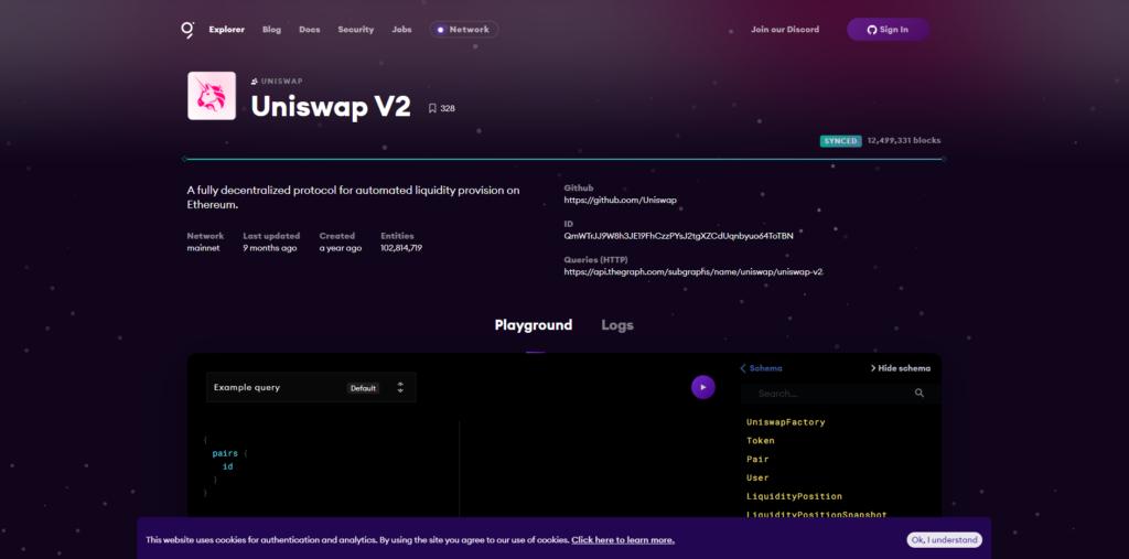 uniswap page